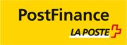 Logo pour la méthode de paiement par PostFinance ou Postcard