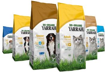 Yarrah Bio Organice - Nourriture pour chien et Chat