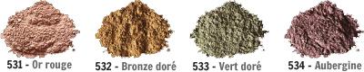 Nuancier Mineral Skin Touche (Ombres à paupières)
